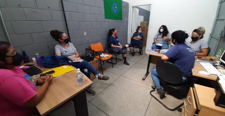 Aplicação dos diagnósticos do projeto para entrada da cooperativa Cooptresc