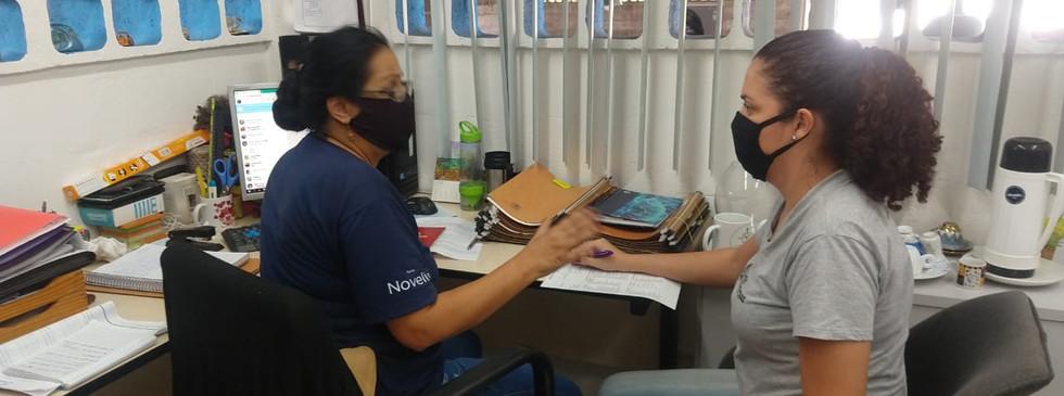 Orientações técnicas referente à ordem de serviço e relatório de acidentes na cooperativa Rainha da Reciclagem