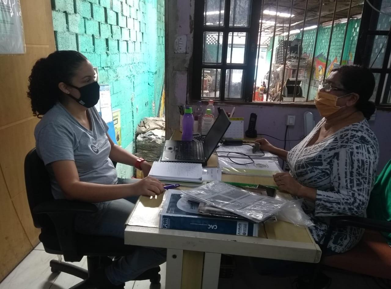 Aplicação dos diagnósticos do projeto para entrada da cooperativa Caminho Certo
