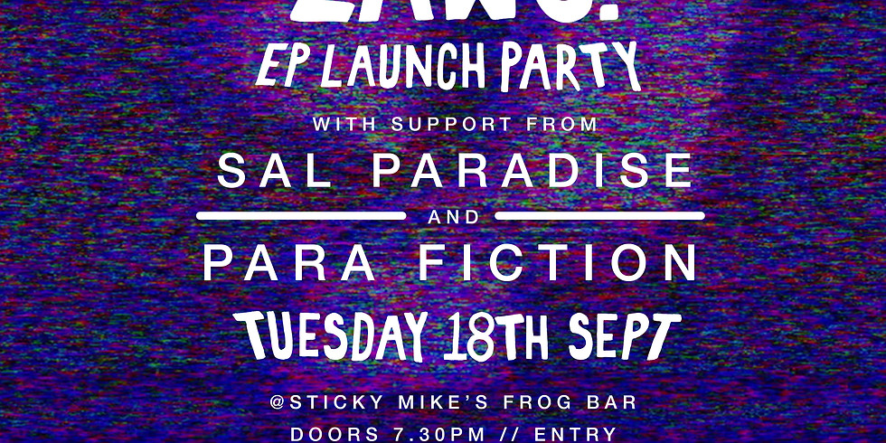 BADLAWS. EP Launch Party