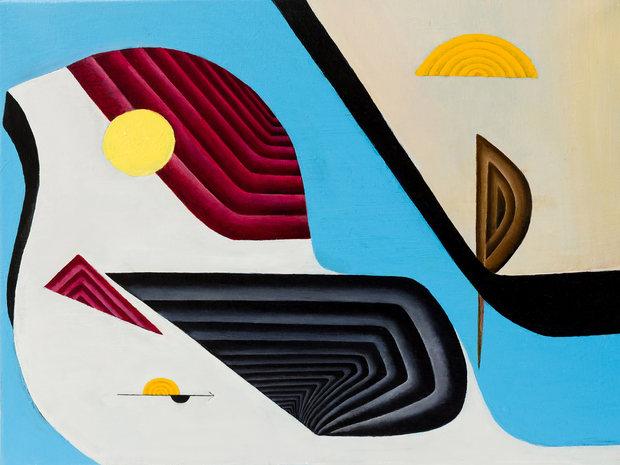 Oil & Acrylic, 20 x 16, 2016