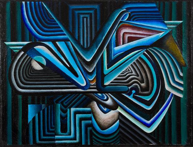Oil & Acrylic, 23 x 17, 2016