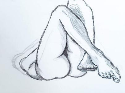 Figure Study - Feet