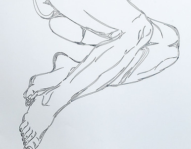 Figure Study - Legs