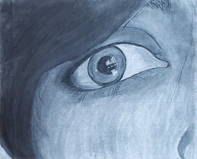 Eye in Charcoal