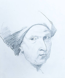 Old Man in Pencil