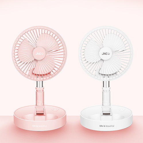 "JNC Foldable & Extendable Fan 6.5"" - JNC 伸縮摺疊風扇 6.5寸"
