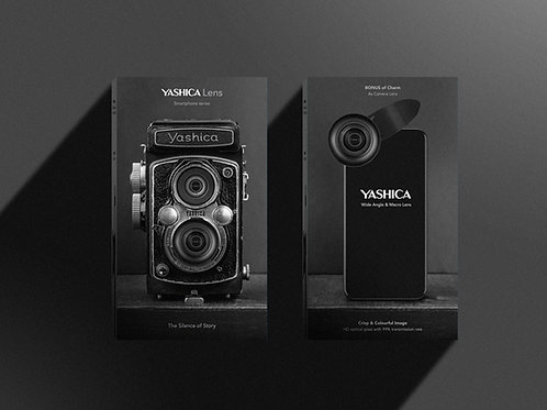 2-in-1- 110° 4K HD Wide Angle & 15X Macro Lens
