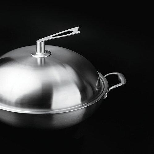 壓紋不鏽鋼鑊 -  Stainless Steel Wok