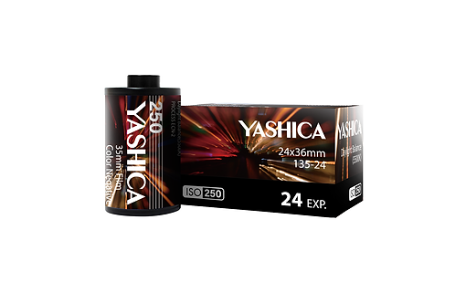 Color Negative - YASHICA 250 35mm Film