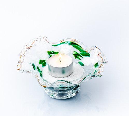 """Dekor-Schale """"Silberkristallglas"""""""