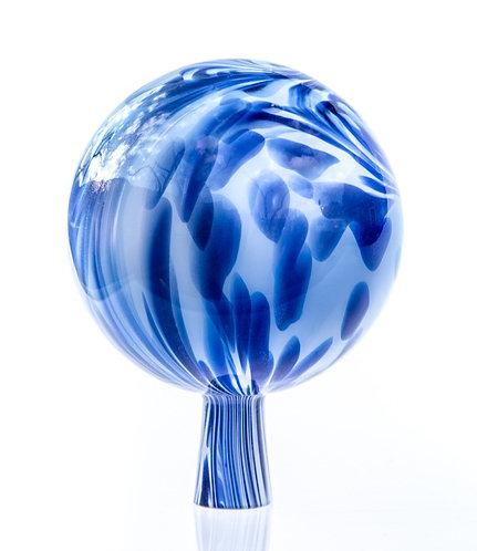 Rosenkugel Goldfluss-Blau