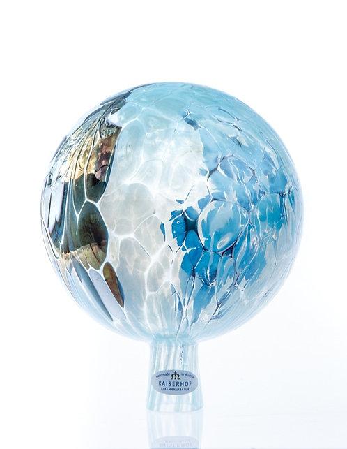 Rosenkugel Wasserblau