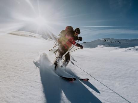 Skitour.