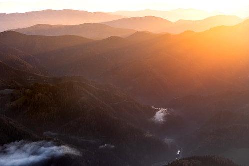 Sonne über Neuberg