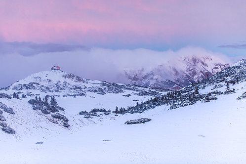 Schneealpenhaus Winter