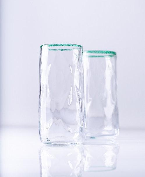 Longdrink-Glas Optik grob