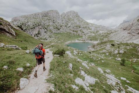Lago di Coldai.