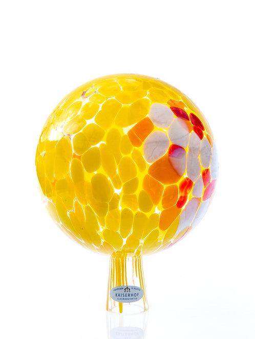 Rosenkugel Hummel-Gelb