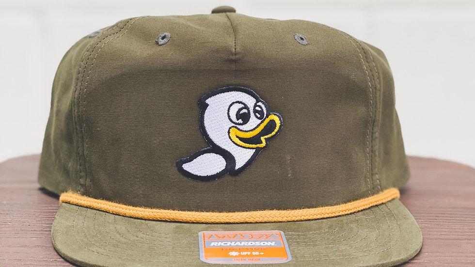 Yellow Rope Hat with original logo