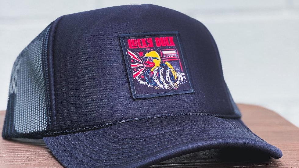 Trucker Hat with Rocker Duck Patch