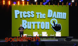 Press The Damn Button Brian Fanzo Keynote Social Fresh
