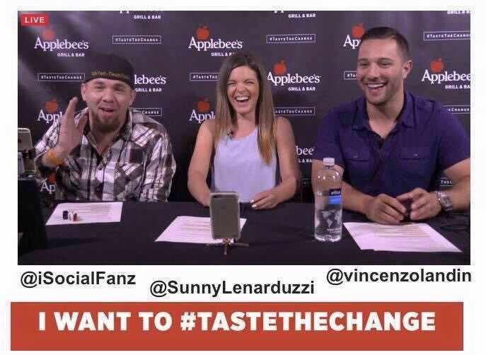 Taste The Change Live Stream Applebees