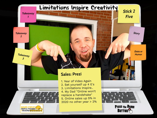 How to Re-invent online sales presentations