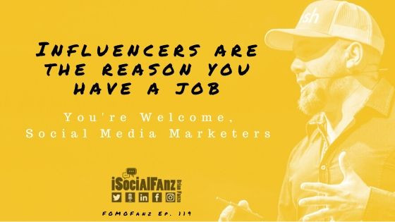 FOMOFanz Podcast Episode 119: Influencer Marketing