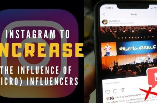 Instagram to Increase the Influence of (Micro) Influencers