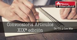 Convocatoria Artículos Revista XIX