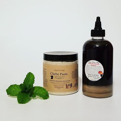 Chebe Hair Growth Treatment Bundle (LEMONGRASS) 16 oz Jar