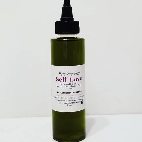 SELF LOVE - Dreadlocks Scalp and Hair Oil (Avocado Oil) - 4oz