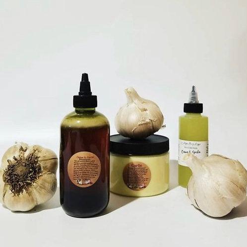 Garlic & Onion Deep Conditioner + Onion&Garlic Hair Oil + Garlic Onion Shampoo -