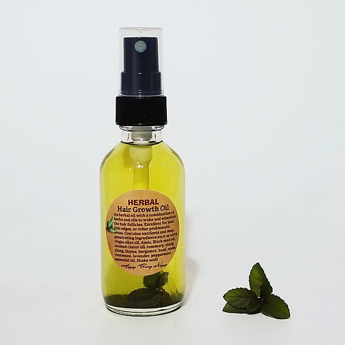 Herbal Hair Growth Oil - 2oz