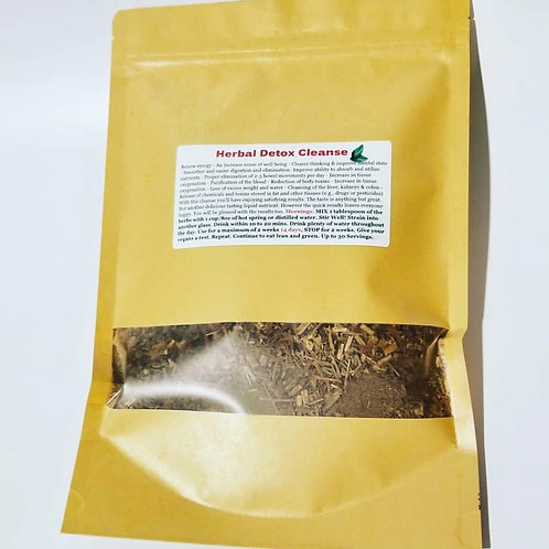 Full Body Organic Herbal Detox Cleanse (bag) (Herbs powder) (Dr. Sebi inspired)