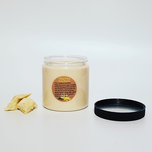 Ylang Ylang Body Butter with cocoa butter - 8oz. Jar