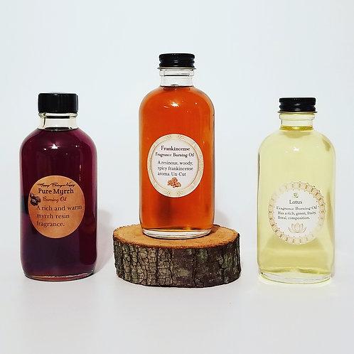 Lotus, Frankincense, Myrrh, Home Burning Oils | ATTAR