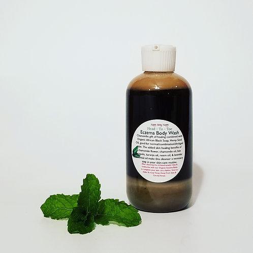 Organic Eczema Body Wash - 8oz.