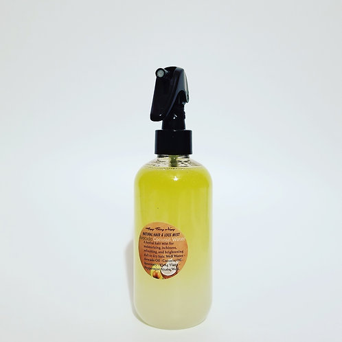 Avocado Coconut Water Natural Hair & Locs Mist - 8oz. (NO TOP) (Refill Only)