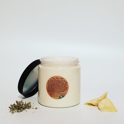 Sage Healing Body Butta - 8oz. Jar