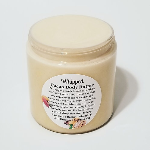 Whipped Cacao Body Butter - 8oz jar