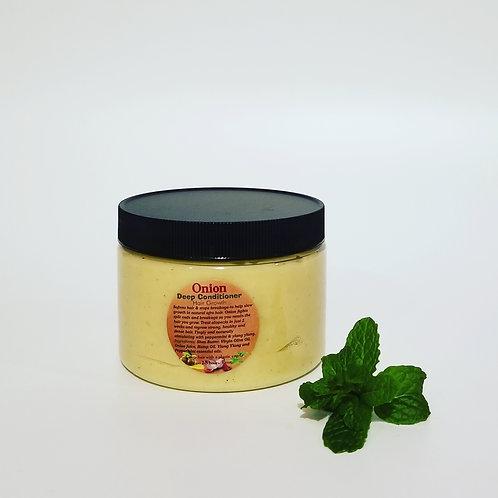 Onion Hair Growth Deep Conditioner 12oz. Jar
