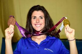 Sprint queen Olivia goes back to school! - Farnham Herald