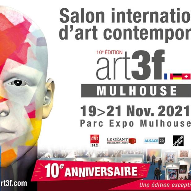 Salon International d'art contemporain art3f Mulhouse