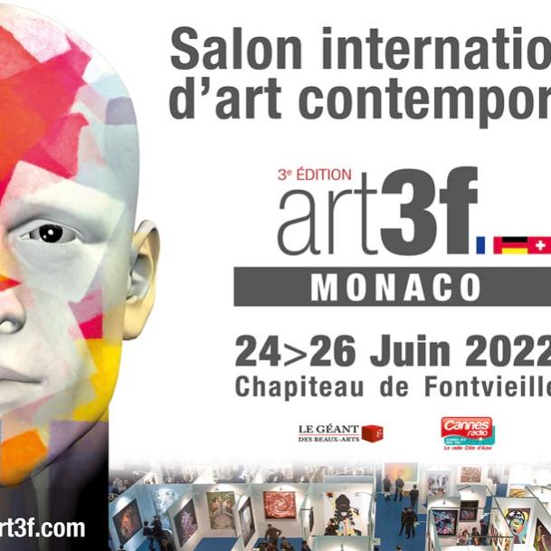 Salon international d'art contemporain art3f Monaco