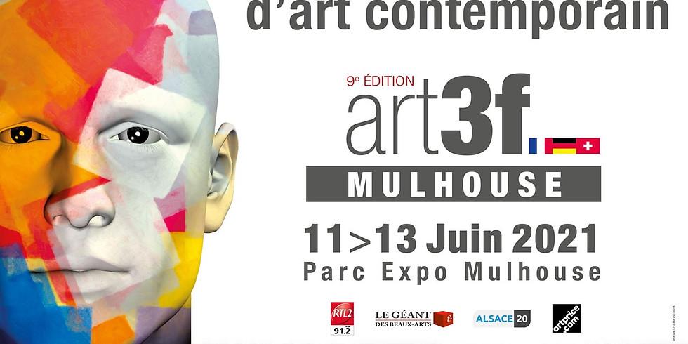 Salon International d'art contemporain art3f Mulhouse 10-11-12 juin 2021