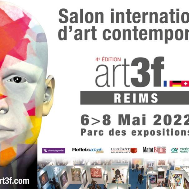 Salon international d'art contemporain art3f Reims