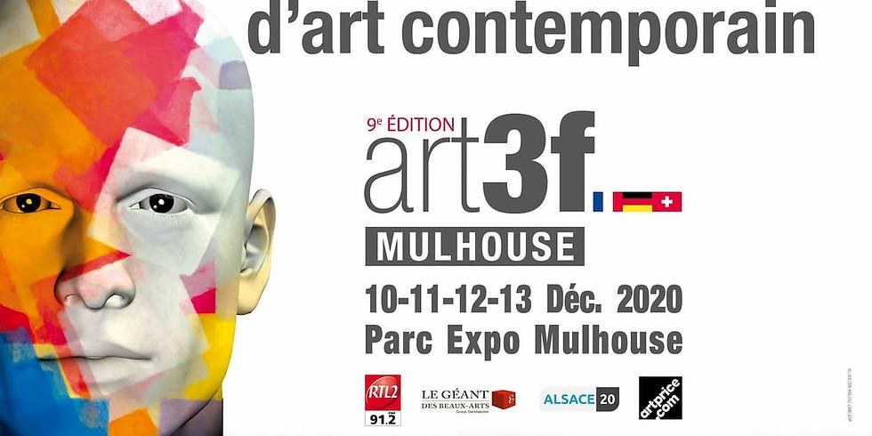 Salon international d'art contemporain art3f Mulhouse 10-11-12-13 décembre 2020
