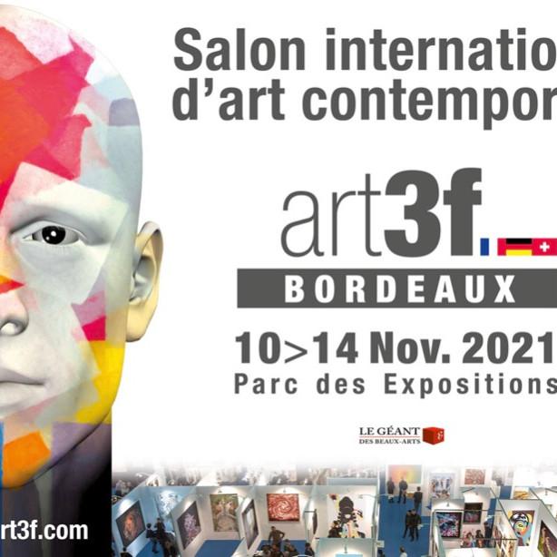 Salon international d'art contemporain art3f Bordeaux
